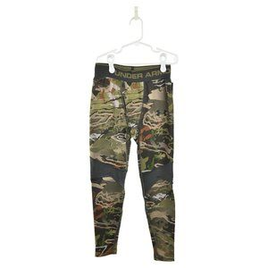 Under Armour Pants M Green